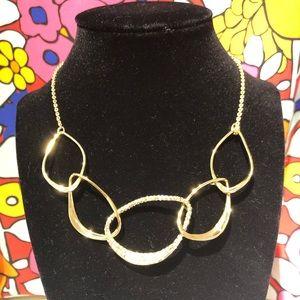Alexis Bittar collar necklace.